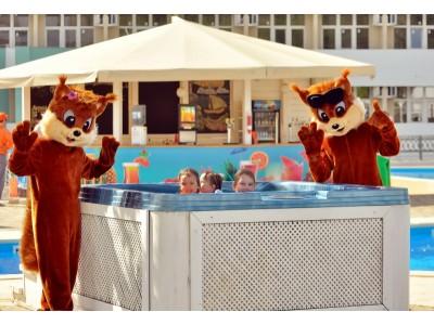 Отель «ALEAN FAMILY RESORT & SPA BIARRITZ / Биарриц» отель (бывш. «Сосновая роща») ,  взрослая и детская анимация