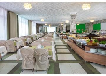 Основной ресторан «Biarritz» | Отель «ALEAN FAMILY RESORT & SPA BIARRITZ / Биарриц» отель (бывш. «Сосновая роща»)