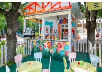 Детское кафе «Карамелька»| Отель  «ALEAN FAMILY RESORT & SPA SPUTNIK / Спутник Сочи»
